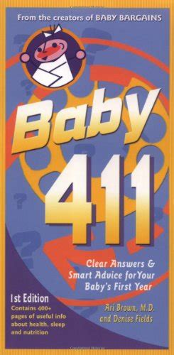 baby 411 clear answers smart advice for your baby s year books zap720 just launched on in usa marketplace pulse