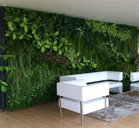 interior plant wall synthetic vertical artificial plants wall green wall