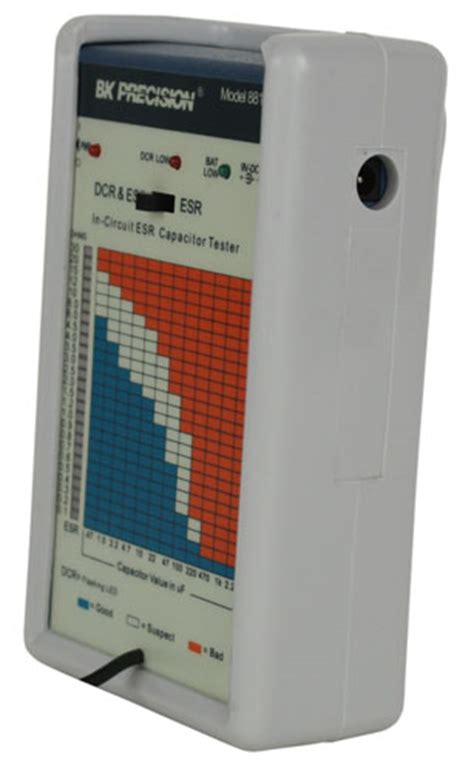 equivalent series resistance capacitor model model 881 in circuit esr tester b k precision