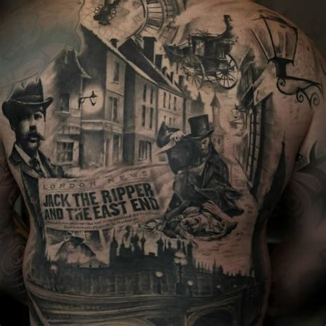 jack the ripper tattoo 29 best ripper tattoos images on history