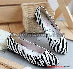 Special Sale Lorenza Flat Shoes free shipping wholesale new special sales patent zebra tip toe flat shoes us5 8 5 wholesale