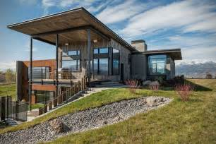 modern rustic house plans rustic modern vacation home in wyoming hiconsumption