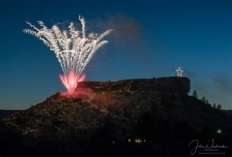 castle rock lights castle rock lighting celebration scenic colorado
