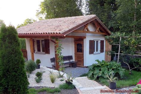Gartenhaus Mediterran by Teja Curva Farbe Mistral Bilder