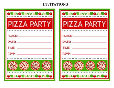 printable pizza party invitation template free pizza party printables from printabelle catch my party
