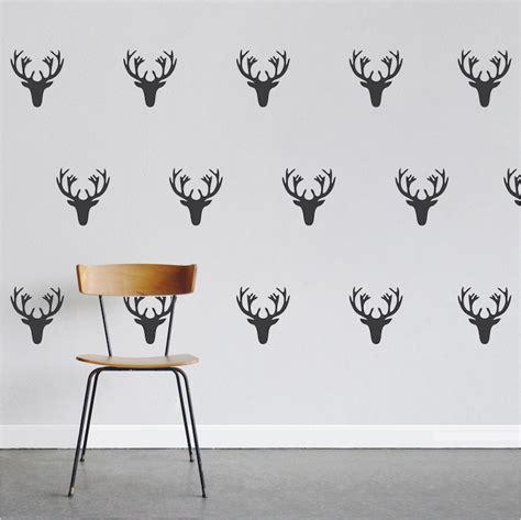 deer wall stickers deer wall decal kit stickers trendy wall designs