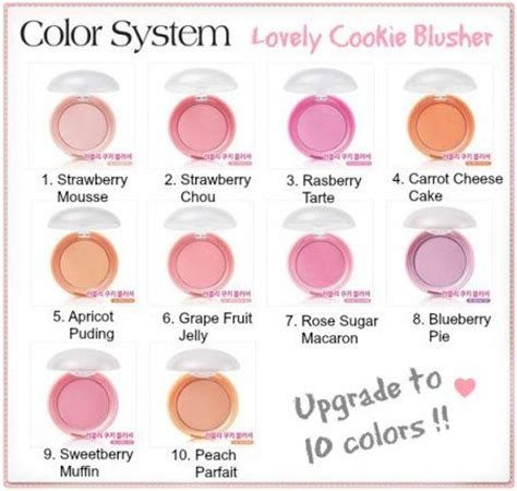 Etude House Cookie Blusher etude house lovely cookie blusher all colours reviews