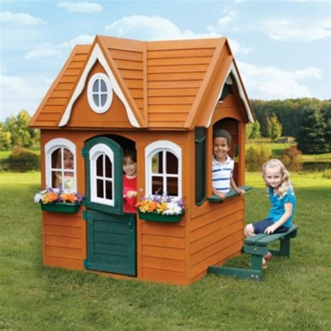 Backyard Discovery Playhouse Costco Wooden Playhouses The Best Playhouse Store