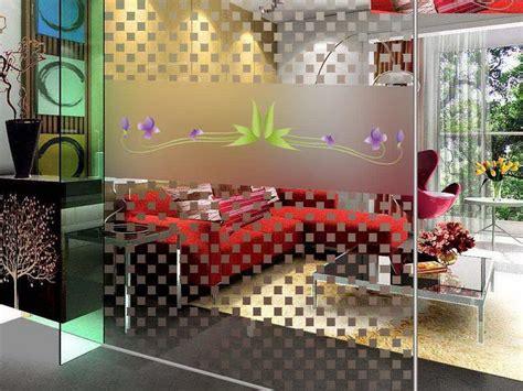 glass divider design how to make a room divider attractive glass design stroovi