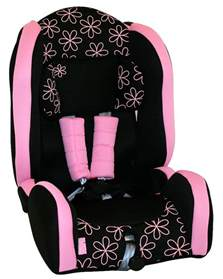 new 4baby childs recliner booster car seat with harness ebay