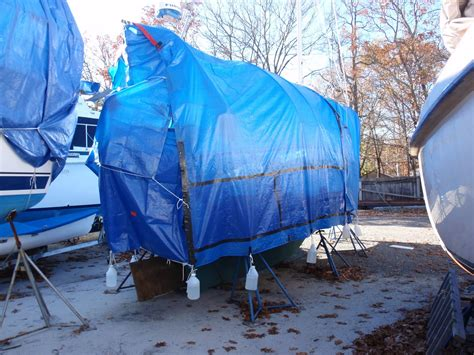 tarp boat cover steve s t top boat cover on his sea hunt boat lovers direct