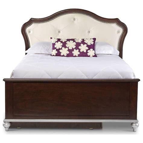 glamorous headboards elements international allison al300fb full bed with