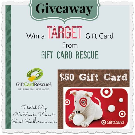 Facebook Target Gift Card - 50 target gift card giveaway from gift card rescue tobethode