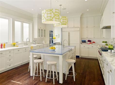 Pendant Lights Above The Kitchen Island And Some Fresh Lighting Above Kitchen Island