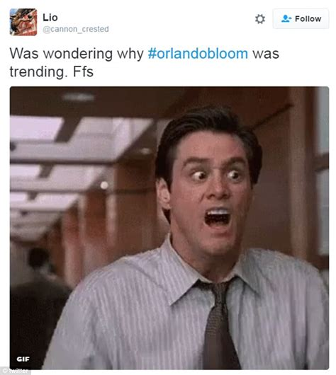Orlando Bloom Meme - twitter explodes with hilarious memes as fans react to naked pictures of orlando bloom daily