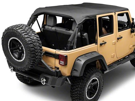 Extended Jeep Wrangler How To Install A Smittybilt Extended Top Black On