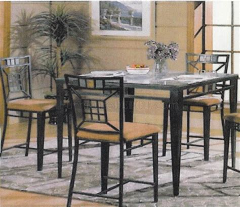 counter height dining table sets with bench glass top modern counter height dining table w optional chairs