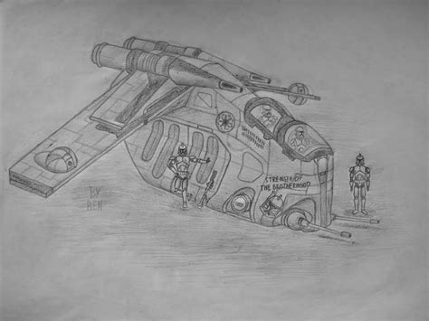 star wars gunship coloring page laat gunship and clone trooper brothers by ben0407 on