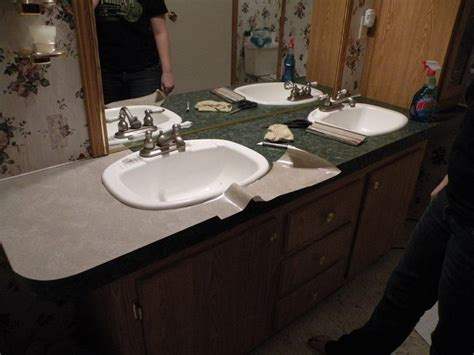 cheap bathroom countertop ideas 38 best images about contact paper countertops designs on