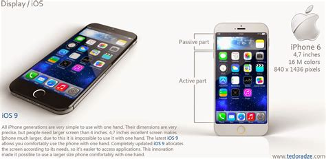 this iphone 6 concept ignores ios 8 uses ios 9 instead