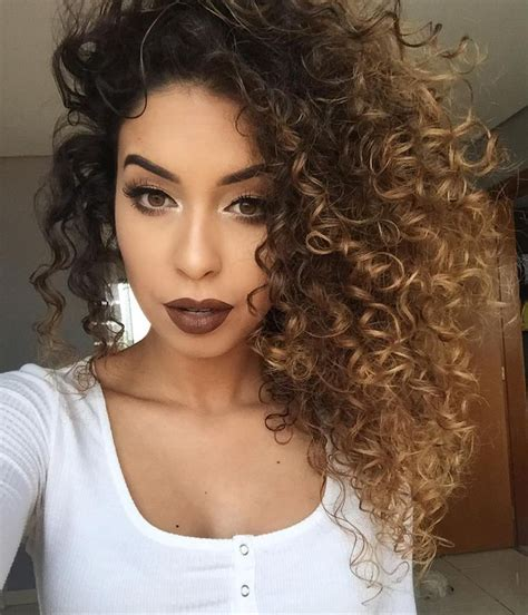 best highlights for curly hair pictures ombre on curly hair black hairstle picture