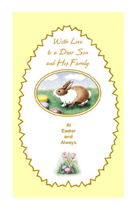 printable christmas cards son dear son and family greeting card easter printable card