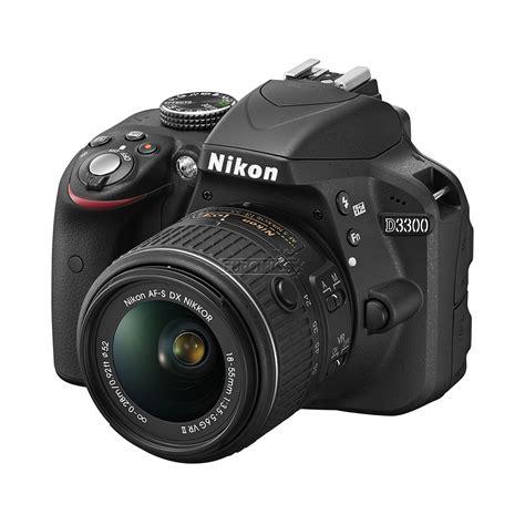 dslr nikon dslr d3300 with 18 55 mm vr lens nikon d3300kitvr
