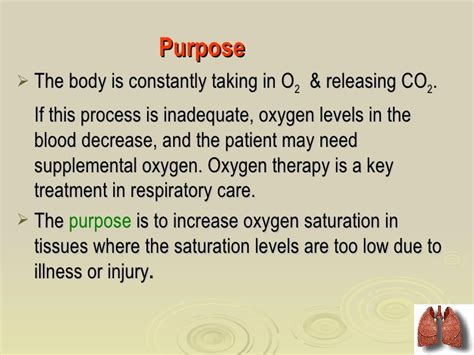 purpose of therapy oxygen therapy by dr vinod ravaliya