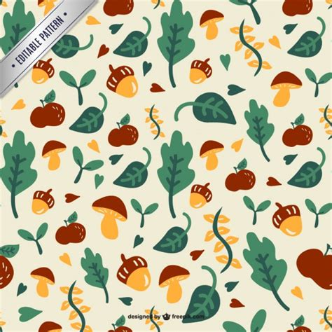 leaves pattern freepik forest leaves pattern vector free download