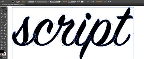 script lettering tutorial illustrator how to rapidly create your own script font with modular