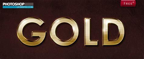 Photoshop Gold Styles | gold photoshop style photoshop styles brushlovers com