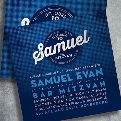 Bar Mitzvah Invitations by Bar Mitzvah Invitations