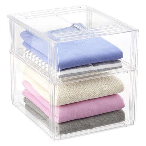 Boxy Premium Jumbo Boxy Sweater Sweater Boxy Sweater Rajut Baj premium stackable shirt sweater bins the container store