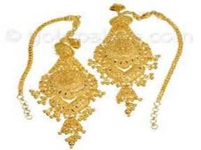gold earring design gold earrings designs