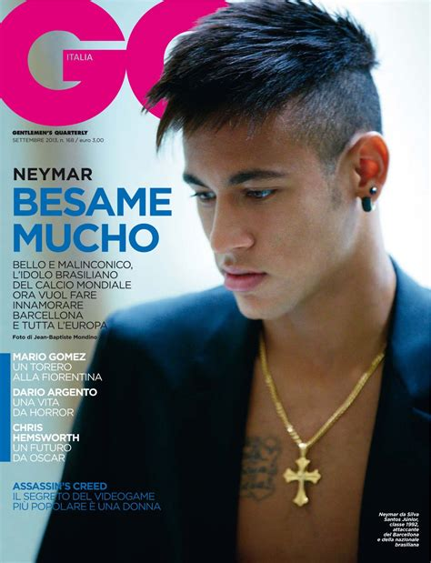 gq model haircuts der stefashionist fashion passion models neymar by