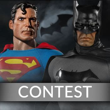 Superman Giveaways - youtube batman and superman giveaway sideshow collectibles