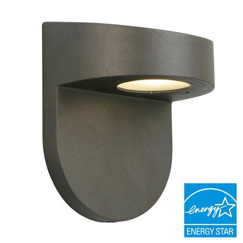 black outdoor wall lantern hton bay black outdoor led wall lantern with frosted