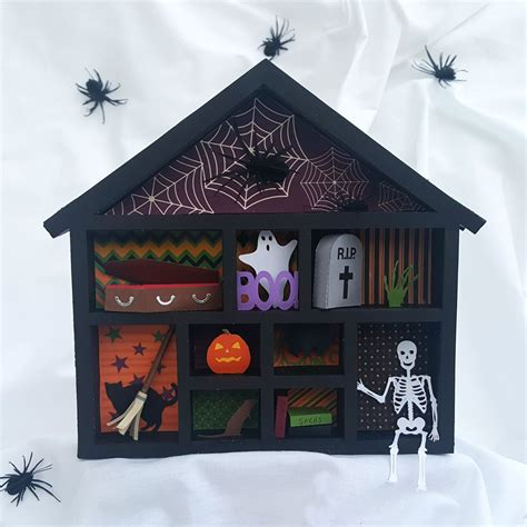 haunted house craft haunted house shadow box pazzles craft room