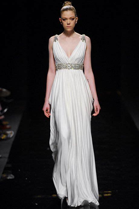 para 237 so blanco en grecia de estilo moderno con toques r 250 sticos vestidos de corte griego grecia pinterest vestidos