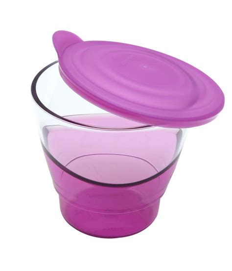 Tupperware Glass tupperware purple glass serving mugs available at snapdeal