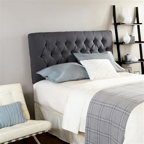 Grey Headboard by Humble Haute Ashford Tufted