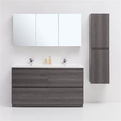 lowes bathroom vanity sets golden elite br60go brunswick 60 in bathroom vanity set