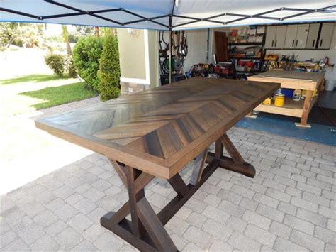 diy chevron pallet dining table pallet furniture plans
