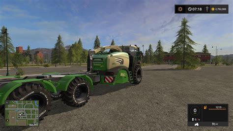 Big X krone bigx 580 hkl v2 0 fs 2017 farming simulator 17 mod