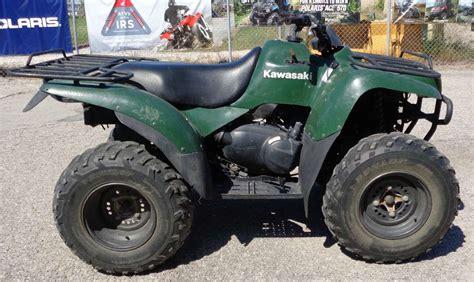 1990 Kawasaki Bayou 300 by Kawasaki Bayou 360 4x4 Motorcycles For Sale