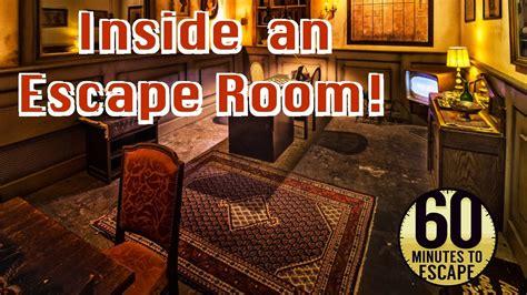 inside room inside an escape room