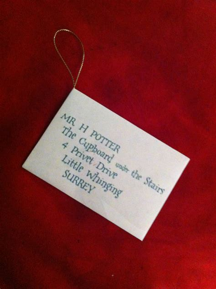 Harry Potter Acceptance Letter Diy Harry Potter Acceptance Letter Ornament
