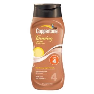 sunscreen in tanning bed coppertone tanning lotion sunscreen spf 4 drugstore com