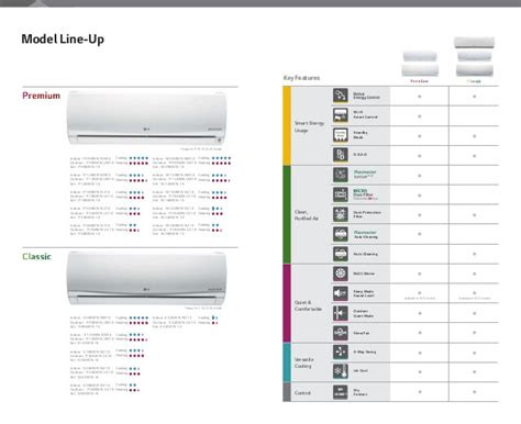 Ac Lg S 12lpbx R 2014 2015 lg split system air conditioners catalogue