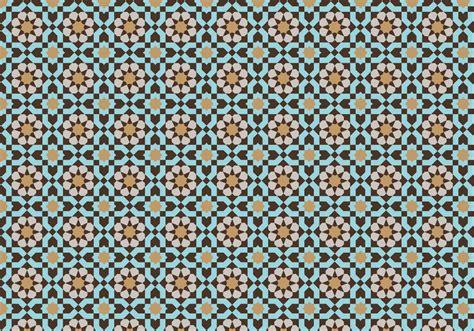 mosaic pattern vector moroccan mosaic pattern bacground download free vector